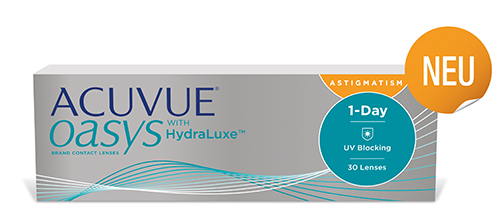 Acuvue Oaysy 1-Day for Astigmatism